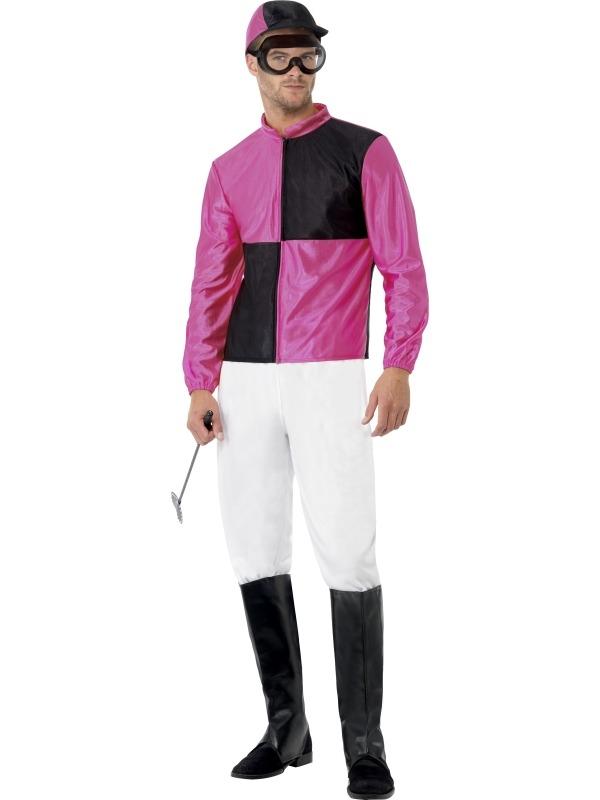 Jockey Heren Carnaval Verkleedkostuum