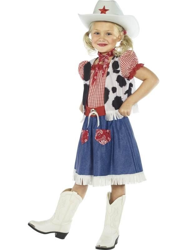 Cowgirl Meisjes Kostuum