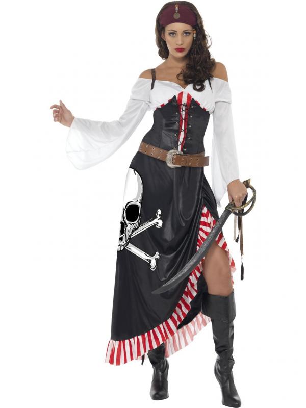 Sultry Sexy Piraten Carnaval Kostuum