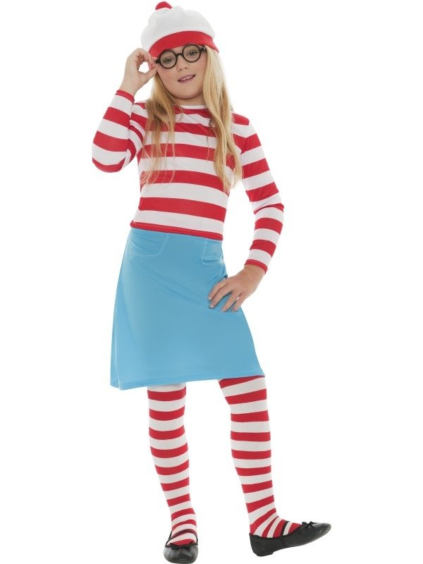 Where's Wally Wenda Kinder Verkleedkostuum