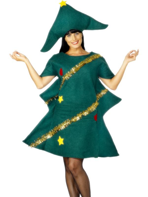 Kerstboom Dames Kostuum