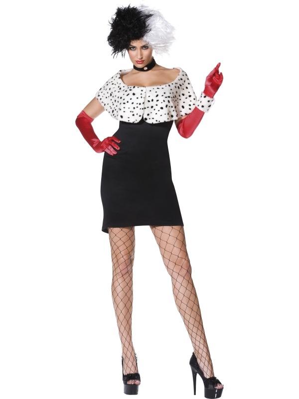 Cruella De Vil Dames Kostuum
