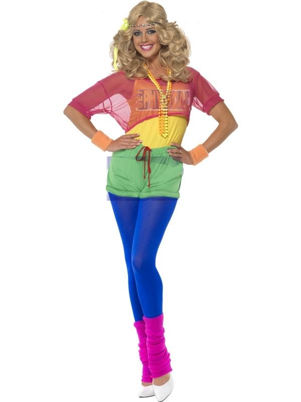 Let's Get Physical Girl Dames Kostuum