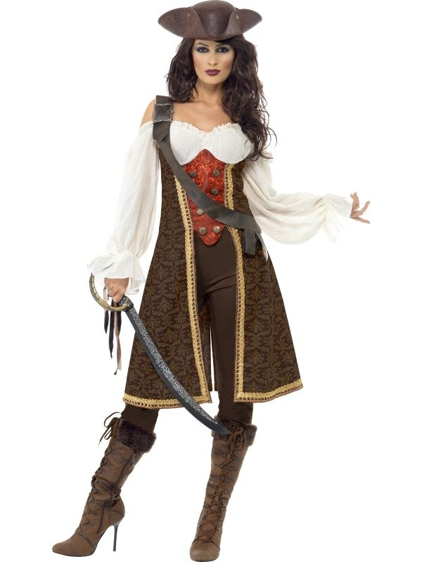 High Seas Pirate Wench Kostuum