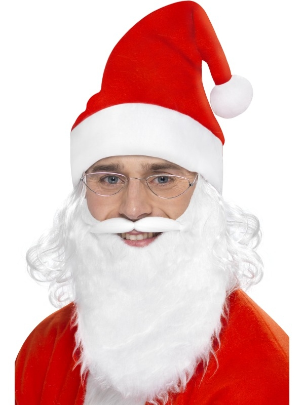 Kerstman Verkleedset 3-Delig