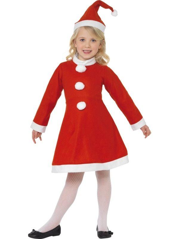 Santa Girl Kerstvrouw Kostuum