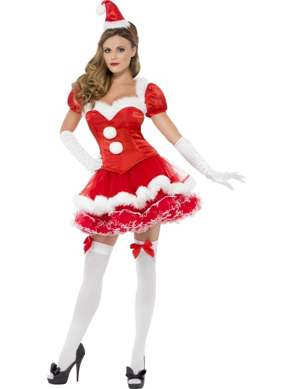 Fever Kerstvrouw Verkleedkostuum