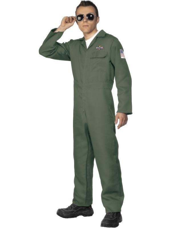 Aviator Piloten Heren Kostuum