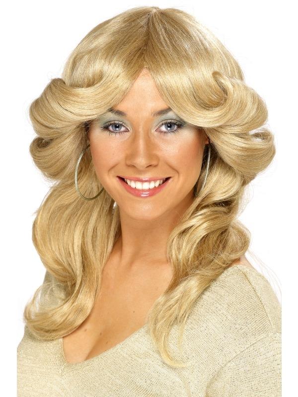 70's Abba Pruik Blond