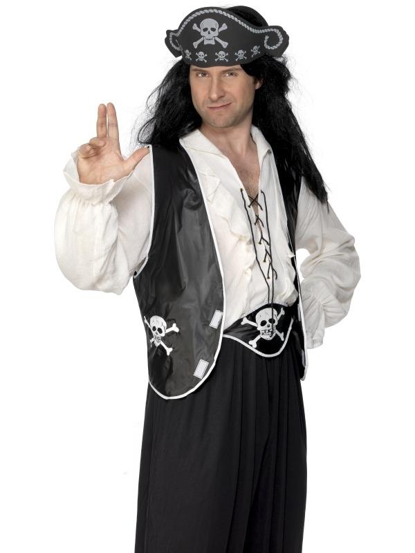 Piraten Heren 3- Delig Verkleedsetje