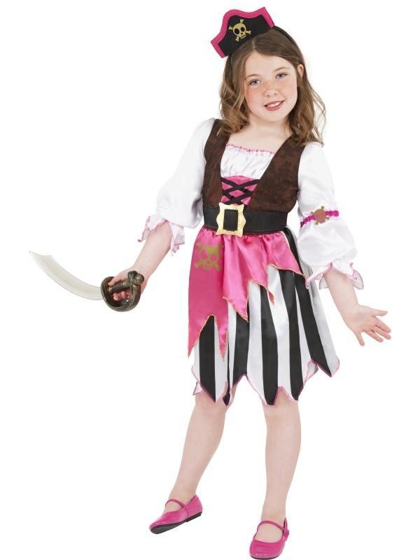 Roze Piraten Verkleedkleding voor Meisjes