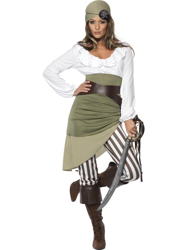 Shipmate Sweetie Piraat Dames Kostuum