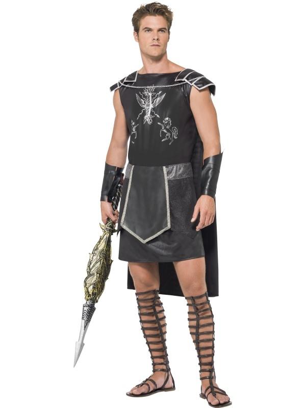 Fever Male Dark Gladiator Kostuum
