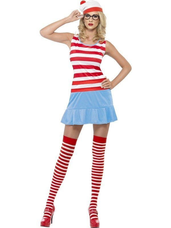 Sexy Where's Wenda Wally Kostuum
