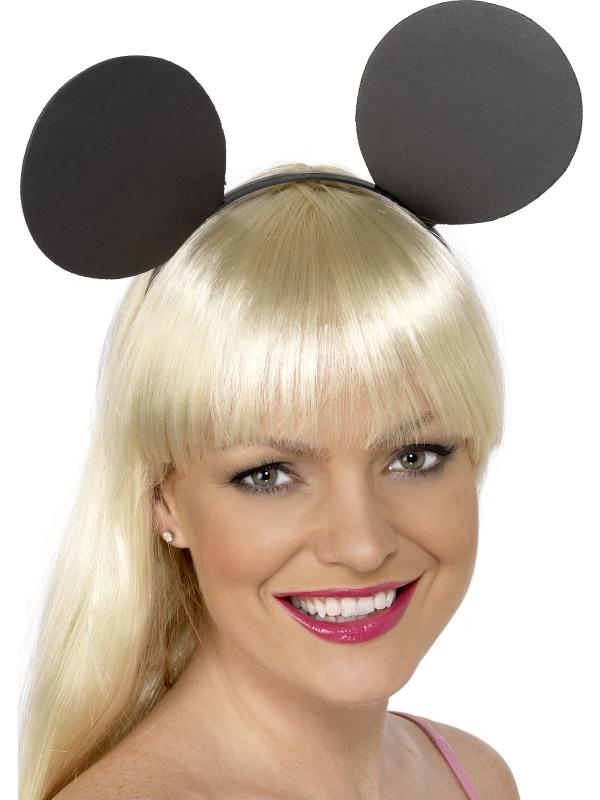 Minnie Mouse Zwarte Oren op Diadeem