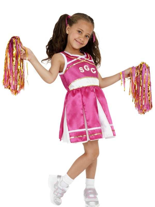 Cheerleader Meisjes Kostuum