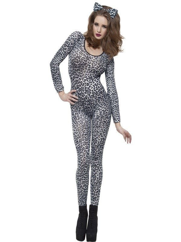 Leopard Print Bodysuit 1 Maat