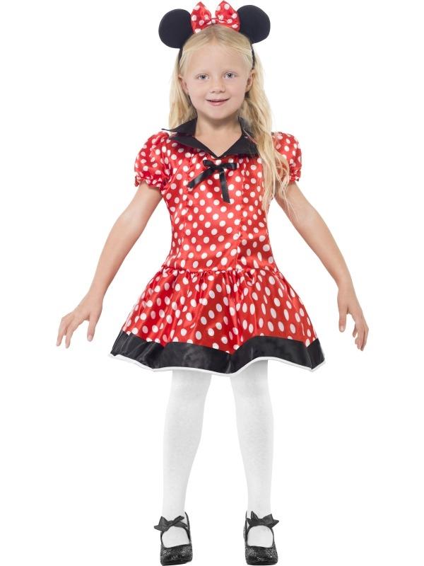 Schattige Mini Mouse Kinder Kostuum