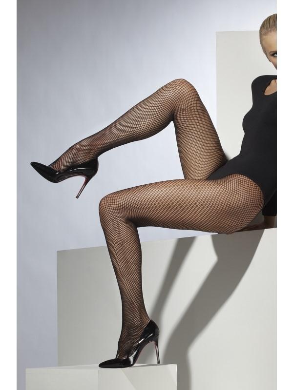 Zwarte Fishnet Panty