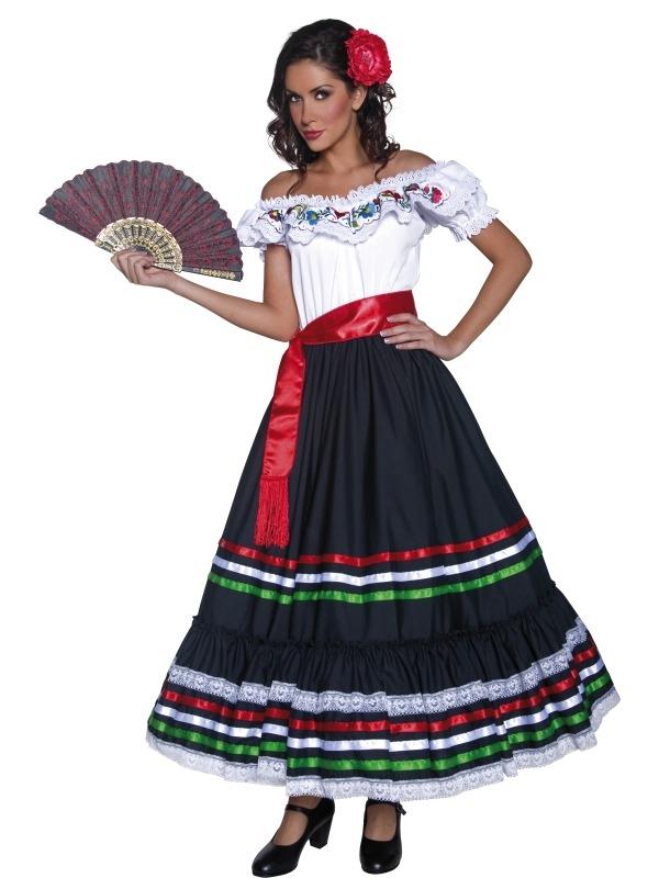 Authentic Western Sexy Senorita Carnavalskleding