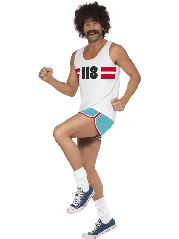 118118 Man Heren Hardloper Kostuum