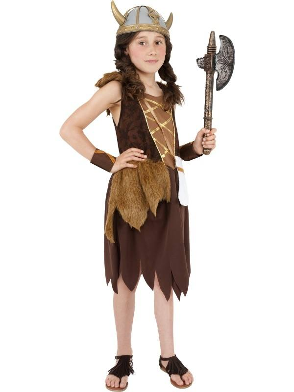 Stoer Viking Meisjes Kostuum