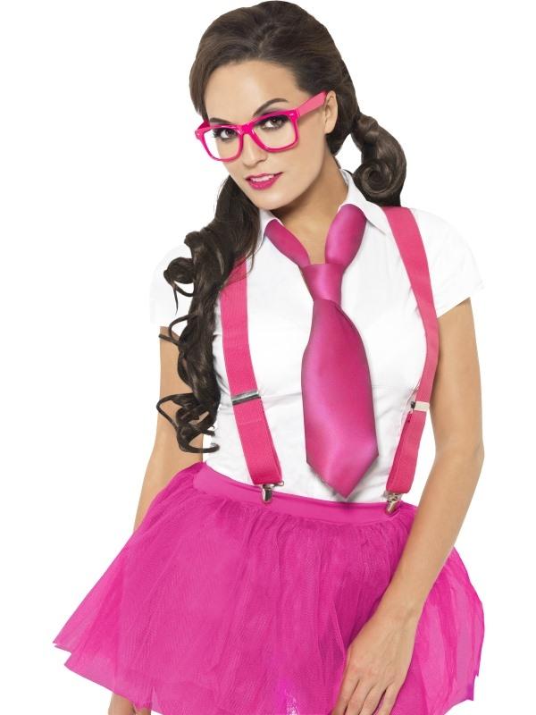 Glam Geek Nerd Verkleedsetje