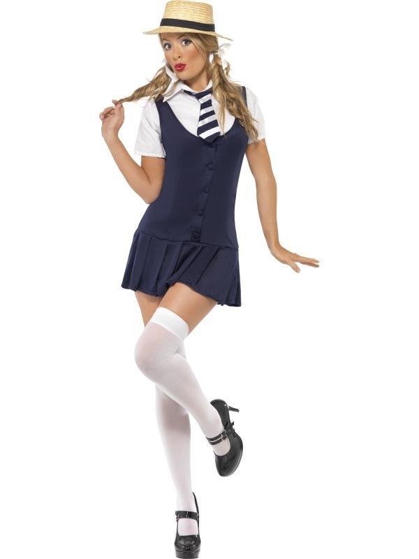 Stout Schoolmeisje Verkleedkostuum