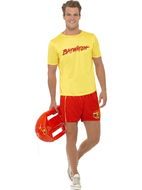 Baywatch Beach Heren Verkleedkleding