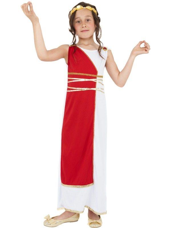 Griekse Godin Meisjes Kostuum