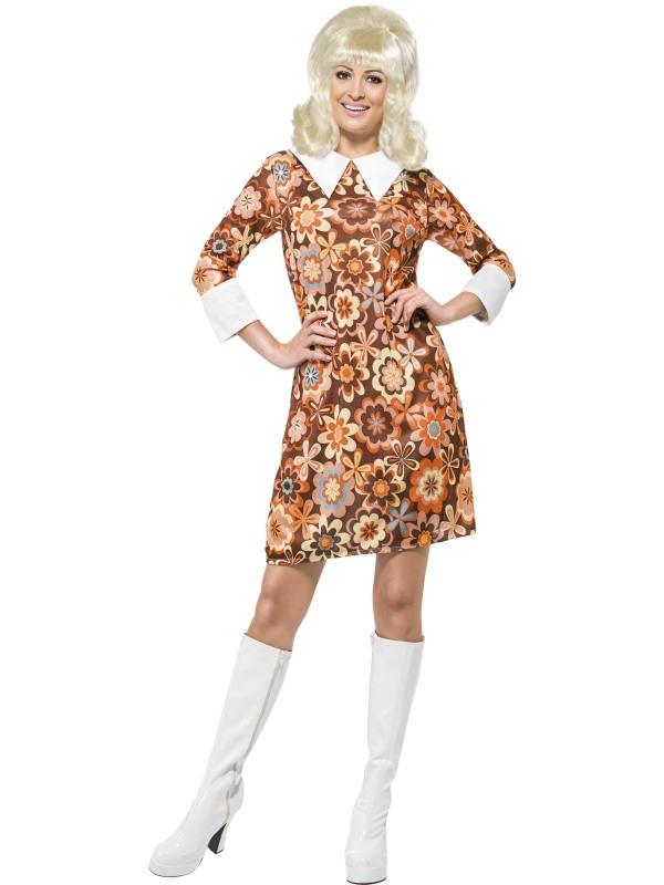 1960's Carnaby Cutie Dames Verkleedkleding