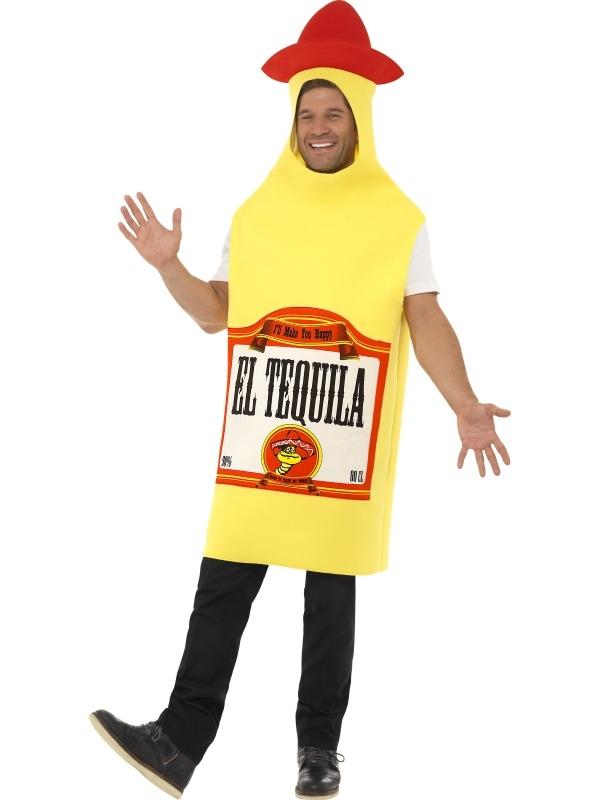 Tequila Fles Heren Verkleedkostuum