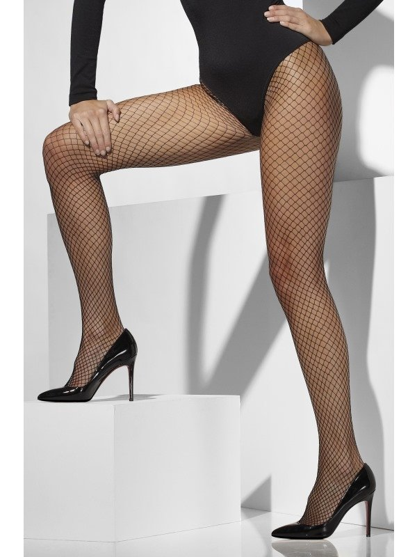 Zwarte Net Panty