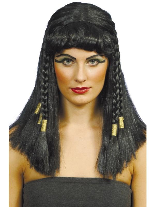 Cleopatra Verkleedkleding Pruik