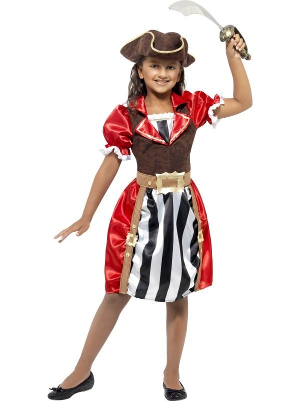 Meisjes Piraten Kapitein Kostuum