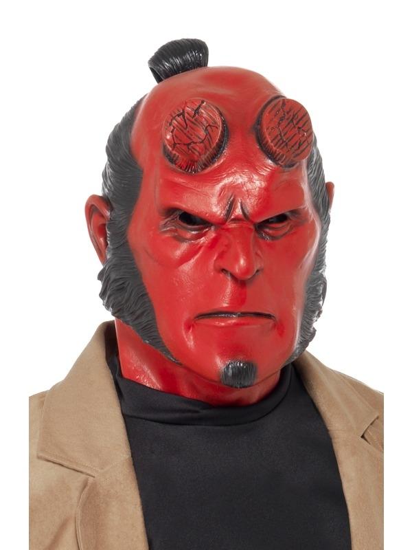 Hellboy Latex Masker
