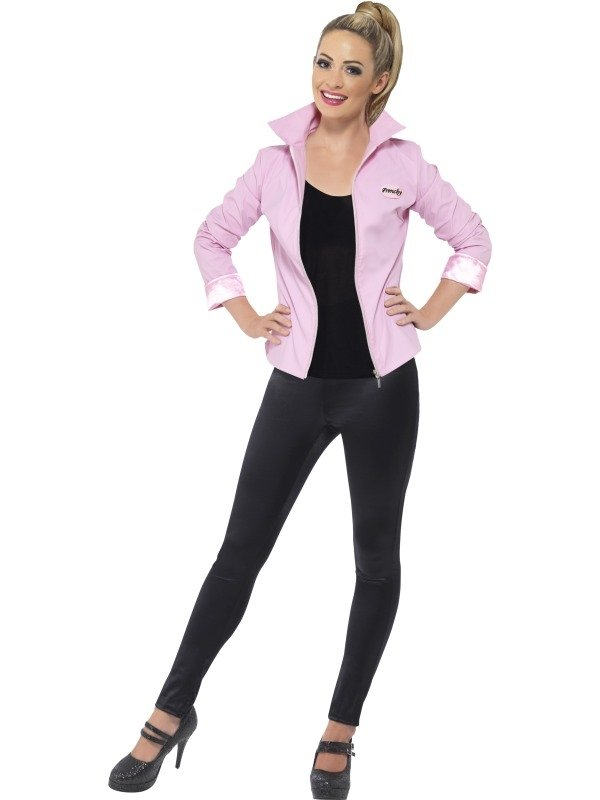 Grease Pink Lady Dames Jasje Deluxe