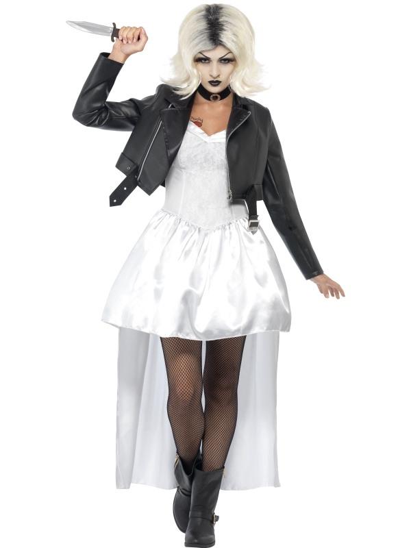 Bruid van Chucky Horror Kostuum