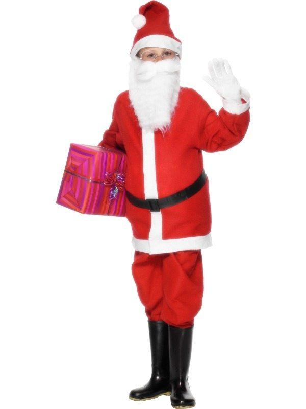 Santa Boy Kerstman Kostuum