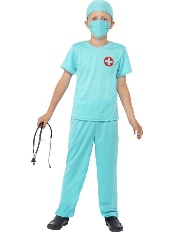 Chirurg Dokter Kostuum Kinder