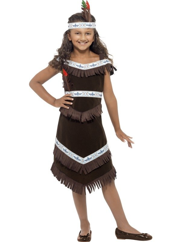 Indianen Meisjes Kostuum
