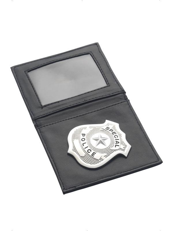 Politie Badge in Portefeuille