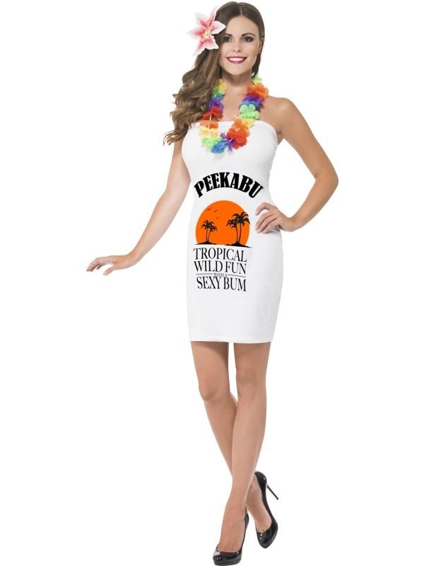 Peekabu Caribbean Fun Malibu Dames Kostuum