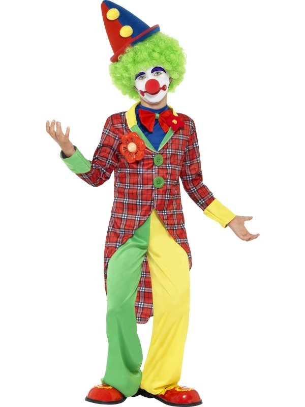 Clown Kinder Vekleedkostuum