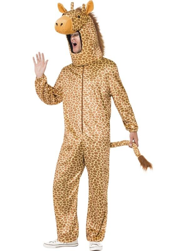 Giraf Heren Bodysuit Verkleedkostuum