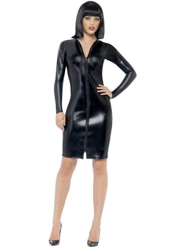 Sexy Fever Whiplash Pencil Dress Verkleedkostuum