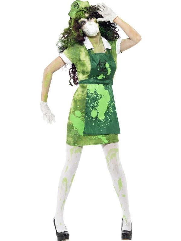 Biohazard Chemisch Dames Horror Kostuum