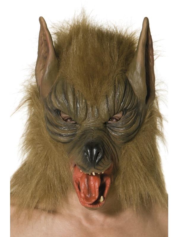 Bruin Weerwolf Halloween Masker
