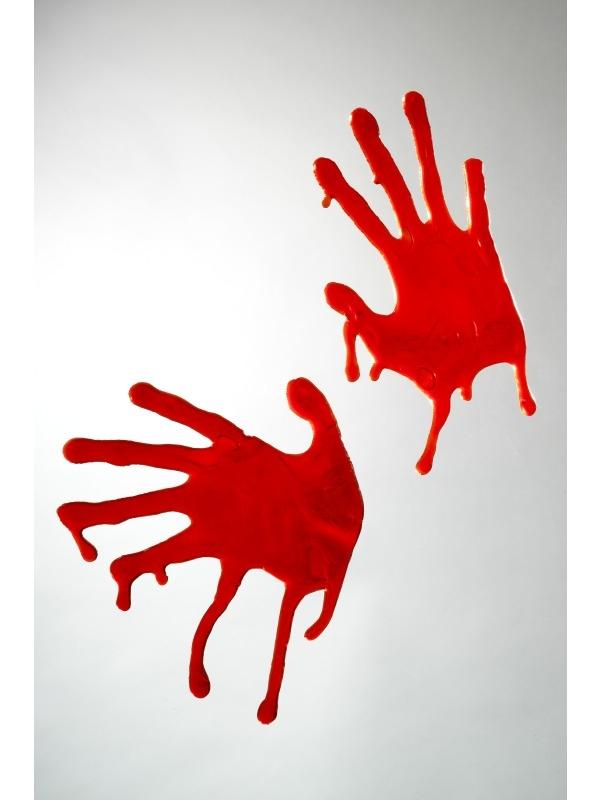 Griezelige Bloederige Gel Handen Halloween Versiering