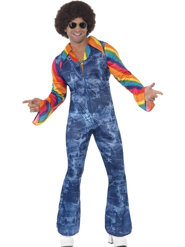 Groovier Dancer 1970's Disco Verkleedkostuum